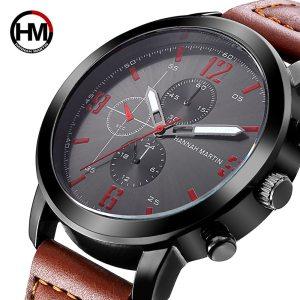 Relogio Masculino 2018 Mens Watches Top Luxury Brand Waterproof Sports Military Watch Men Fashion Leather Quartz Innrech Market.com