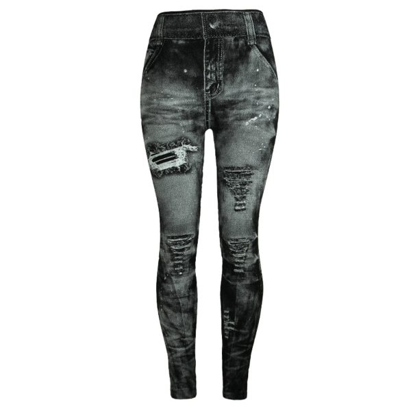 Unique style fashion beautiful and elegant Women Jeans Bottom Pants Coloured Hip up Super Bomb Slim Unique style fashion beautiful and elegant Women Jeans Bottom Pants Coloured Hip-up Super Bomb Slim Nine-minute Gray Pant W30416
