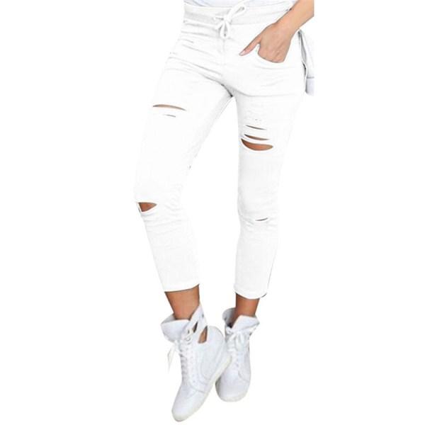 White Jeans Feminino Plus Size Candy Pantalon Femme Black Skinny Jeans Woman Long Pants Large Size 4 White Jeans Feminino Plus Size Candy Pantalon Femme Black Skinny Jeans Woman Long Pants Large Size Jeans For Women