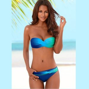 Women Sexy Print Swimwear 2019 New Female Two Piece Swimsuit Female Separate Push Up Bikini Set Innrech Market.com