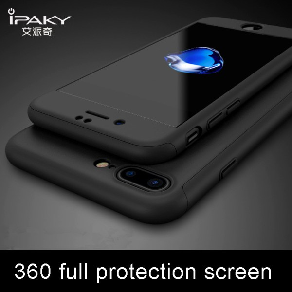 ipaky For iPhone XS MAX Case 360 Full Protective Hard PC Tempered Flim Case cover For ipaky For iPhone XS MAX Case 360 Full Protective Hard PC Tempered Flim Case cover For iPhone X XR 8 7 6 6s 10 s plus coque cases