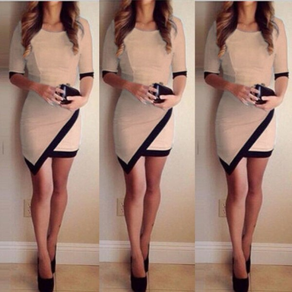 2018 Fashion Dress Women Bandage Bodycon Half Sleeve Evening Sexy Party Mini Dress Ladies Short Mini 1 2018 Fashion Dress Women Bandage Bodycon Half Sleeve Evening Sexy Party Mini Dress Ladies Short Mini Dress Vestidos
