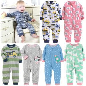 2019 Baby clothes bebes jumpsuit collar fleece newborn pajamas infants baby boys clothes toddler boys clothes Innrech Market.com