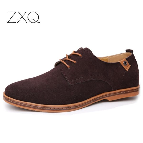 2019 fashion men casual shoes new spring men flats lace up male suede oxfords men leather 3 2019 fashion men casual shoes new spring men flats lace up male suede oxfords men leather shoes zapatillas hombre size 38-48