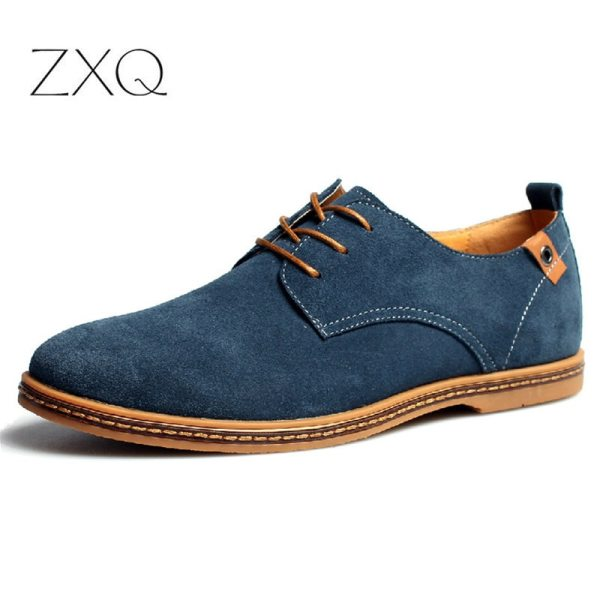 2019 fashion men casual shoes new spring men flats lace up male suede oxfords men leather 2019 fashion men casual shoes new spring men flats lace up male suede oxfords men leather shoes zapatillas hombre size 38-48