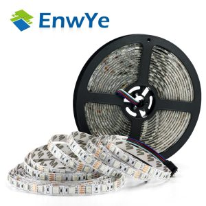 EnwYe 5M 300Leds waterproof RGB Led Strip Light 3528 5050 DC12V 60Leds M Fiexble Light Led Innrech Market.com