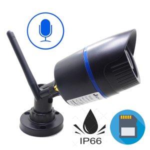 IP Camera Wifi 720P 960P 1080P HD Wireless Cctv Security Indoor Outdoor Waterproof Audio IPCam Infrared Innrech Market.com