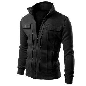Quality Brand Button JACKET COAT Men Fashion Tracksuit Sweatshirt Male 2018 Cardigan Multi Mens Purpose Tour Innrech Market.com