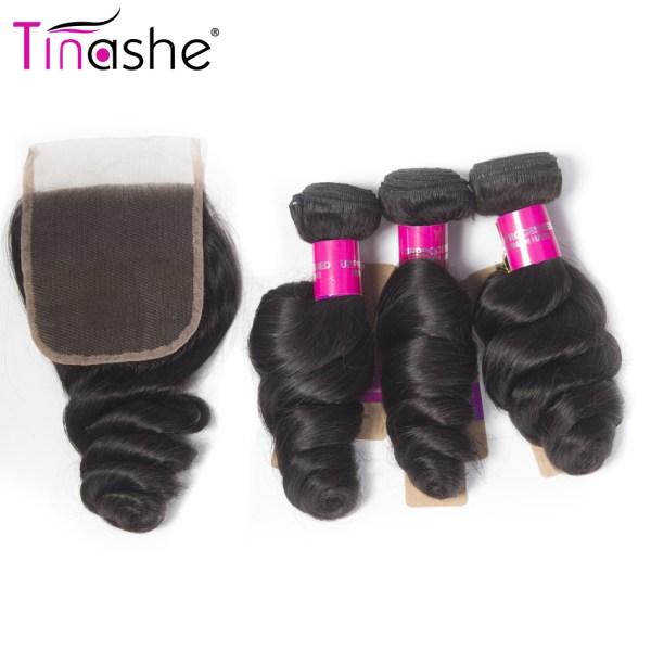 Tinashe Hair Brazilian Hair Weave Bundles With Closure Remy Human Hair 3 Bundles With Closure Loose 1 Tinashe Hair Brazilian Hair Weave Bundles With Closure Remy Human Hair 3 Bundles With Closure Loose Wave Bundles With Closure