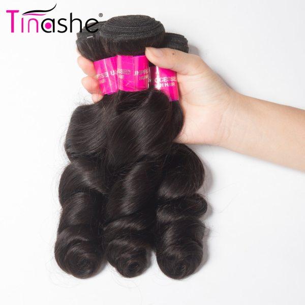 Tinashe Hair Brazilian Hair Weave Bundles With Closure Remy Human Hair 3 Bundles With Closure Loose 2 Tinashe Hair Brazilian Hair Weave Bundles With Closure Remy Human Hair 3 Bundles With Closure Loose Wave Bundles With Closure