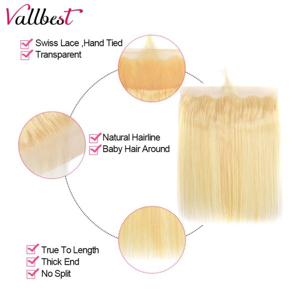 Vallbest 613 Bundles With Frontal Middle Ratio Brazilian Straight Hair 3 Bundles With Closure Remy Blonde 3 Vallbest 613 Bundles With Frontal Middle Ratio Brazilian Straight Hair 3 Bundles With Closure Remy Blonde Bundles With Frontal