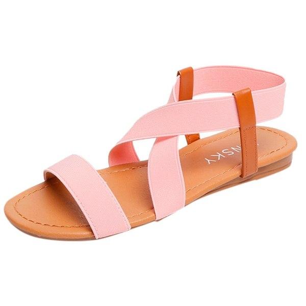 2019 Women s Sandals Spring Summer Ladies Shoes Low Heel Anti Skidding Beach Shoes Peep toe 4 2019 Women's Sandals Spring Summer Ladies Shoes Low Heel Anti Skidding Beach Shoes Peep-toe Fashion Casual Walking sandalias