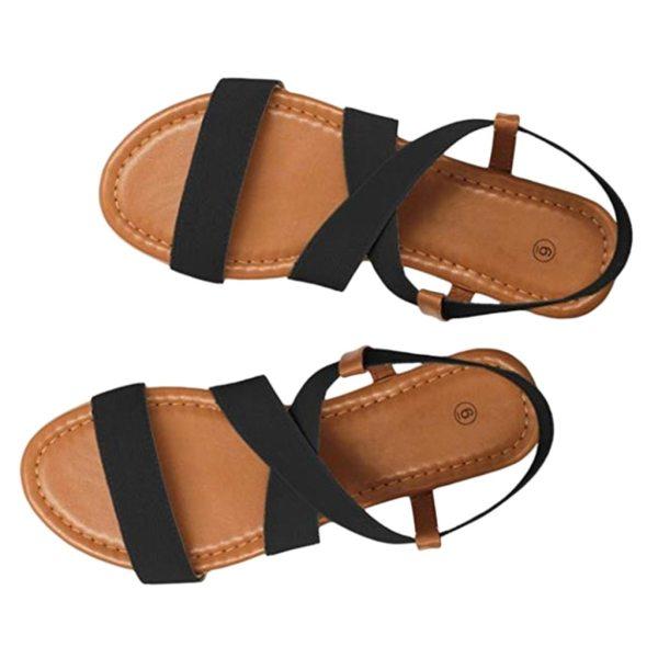 2019 Women s Sandals Spring Summer Ladies Shoes Low Heel Anti Skidding Beach Shoes Peep toe 2019 Women's Sandals Spring Summer Ladies Shoes Low Heel Anti Skidding Beach Shoes Peep-toe Fashion Casual Walking sandalias
