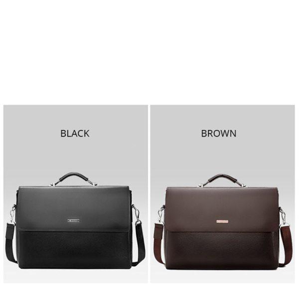 2020 Fashion Business Men Briefcase Leather Laptop Handbag Tote Casual Man Bag For male Shoulder Bag 5 2020 Fashion Business Men Briefcase Leather Laptop Handbag Tote Casual Man Bag For male Shoulder Bag Male Office Messenger Bag