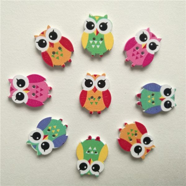 50pc Mixed Animals 2Hole Wooden Buttons for Scrapbooking Crafts DIY Baby Children Clothing Sewing Accessories Button 2 50pc Mixed Animals 2Hole Wooden Buttons for Scrapbooking Crafts DIY Baby Children Clothing Sewing Accessories Button Decoration