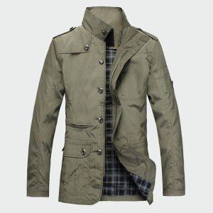 Fashion Thin Men s Jackets Hot Sell Casual Wear Korean Comfort Windbreaker Autumn Overcoat Necessary Spring Innrech Market.com