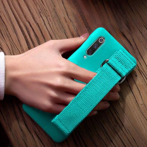 For Xiaomi Mi 9T 9 SE 8 Lite Pro 6 6X A2 A1 Note 10 Max 4 For Xiaomi Mi 9T 9 SE 8 Lite Pro 6 6X A2 A1 Note 10 Max 2 3 Mix 2S CC9 CC9E Redmi K20 Case Silicon Matte Cover Hand Strap Funda