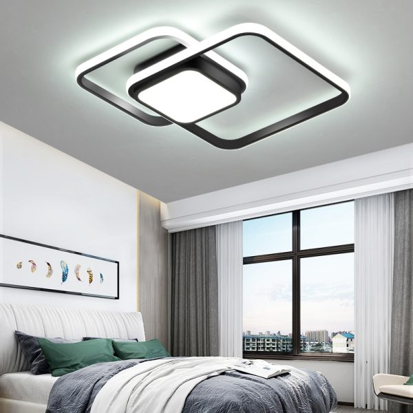 LICAN Bedroom Living room Ceiling Lights Modern LED lampe plafond avize Modern LED Ceiling Lights lamp LICAN Bedroom Living room Ceiling Lights Modern LED lampe plafond avize Modern LED Ceiling Lights lamp with remote control
