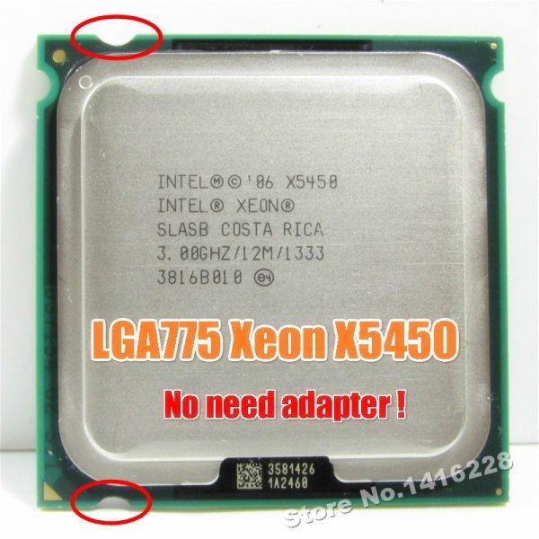Xeon X5450 Processor 3 0GHz 12MB 1333MHz SLBBE SLASB Close to Core 2 Quad q9650 works Xeon X5450 Processor 3.0GHz 12MB 1333MHz SLBBE SLASB Close to Core 2 Quad q9650 works on LGA775 motherboard