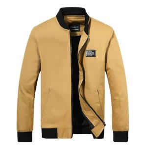 2019 Men Jacket Casual Cotton Washed Retro College Baseball Workwear Business Black Vintage Coat Male Spring Innrech Market.com