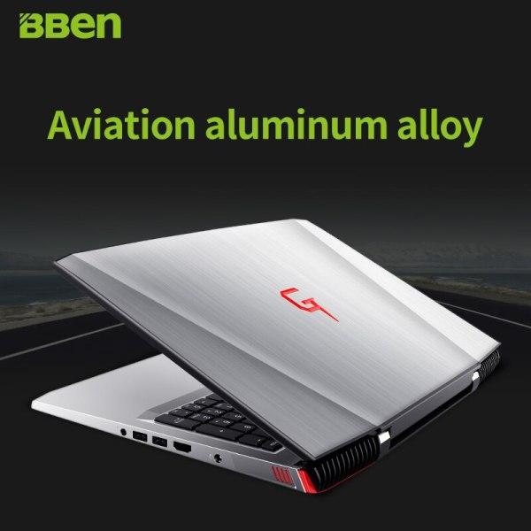 BBen laptop G16 notebook DDR4 16GB 256GB M 2 SSD 1TB HDD Intel i7 7700hq quad 2 BBen laptop G16 notebook DDR4 16GB+256GB M.2 SSD+1TB HDD Intel i7-7700hq quad cores NVIDIA GTX1060 windows10 wifi