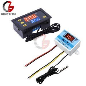 DC 12V 24V 110V 220V AC 20A LED Digital Temperature Controller Thermostat Thermometer Temperature Control Switch Innrech Market.com