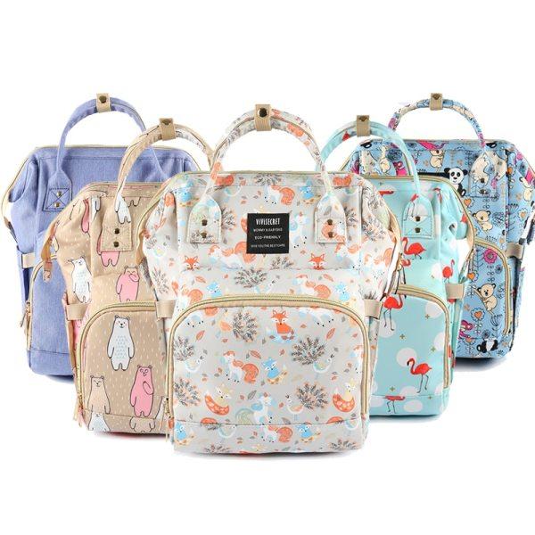 Diaper Bag Backpack For Moms Waterproof Large Capacity Stroller Diaper Organizer Unicorn Maternity Bags Nappy Changing Diaper Bag Backpack For Moms Waterproof Large Capacity Stroller Diaper Organizer Unicorn Maternity Bags Nappy Changing Baby Bag