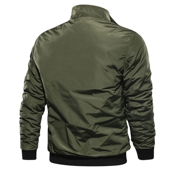 LBL Solid Bomber Jacket Men Casual Autumn Spring Military Pockets Jackets Man Outwear Slim Fit Mens 3 LBL Solid Bomber Jacket Men Casual Autumn Spring Military Pockets Jackets Man Outwear Slim Fit Mens Coat Tracksuit Brand Clothes
