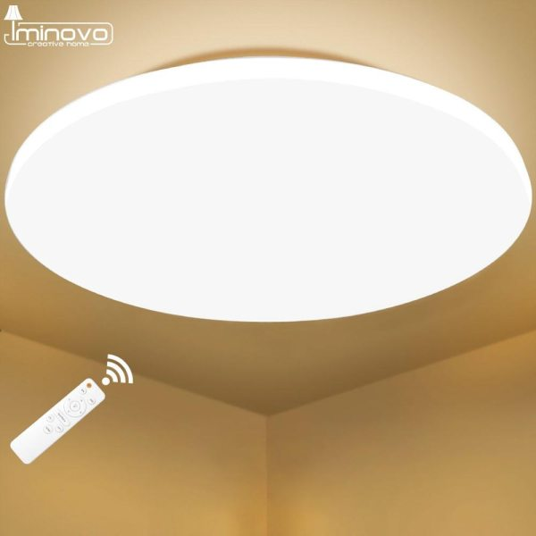 Modern LED Ceiling Light Lighting Fixture Lamp Surface Mount Living Room Bedroom Bathroom Remote Control Home 1 Modern LED Ceiling Light Lighting Fixture Lamp Surface Mount Living Room Bedroom Bathroom Remote Control Home Decoration Kitchen
