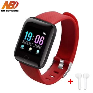 D13 Smart Watch Bracelet Heart Rate Tracker Pedometers Blood Pressure IP67 Waterproof 116 Plus Wirstband For Innrech Market.com