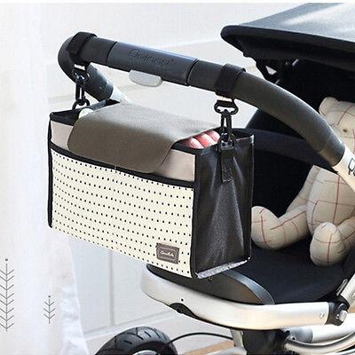 Fashion Multifunctional Mummy Bag Baby Diaper Nappy Pram Stroller Hanging Bag 4 Fashion Multifunctional Mummy Bag Baby Diaper Nappy Pram Stroller Hanging Bag