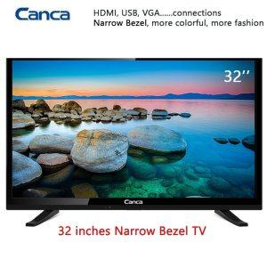 Free Shipping 19 22 24 32inch Edge LED LCD Television 16 9 Progressive Scan 1366 768 Innrech Market.com
