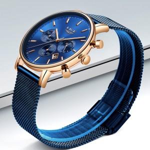 LIGE Fashion Men Watches Male Top Brand Luxury Quartz Watch Men Casual Slim Dress Waterproof Sport Innrech Market.com