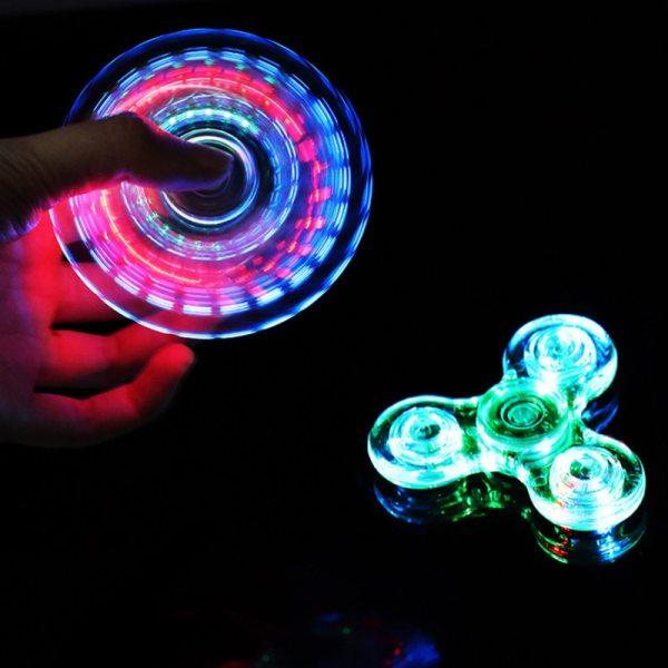 Luminous LED light Fidget Spinner Hand Top Spinners Glow in Dark Light EDC Figet Spiner Batman 1 Luminous LED light Fidget Spinner Hand Top Spinners Glow in Dark Light EDC Figet Spiner Batman Finger Stress Relief Toys