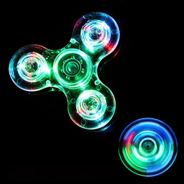 Luminous LED light Fidget Spinner Hand Top Spinners Glow in Dark Light EDC Figet Spiner Batman 2 Luminous LED light Fidget Spinner Hand Top Spinners Glow in Dark Light EDC Figet Spiner Batman Finger Stress Relief Toys