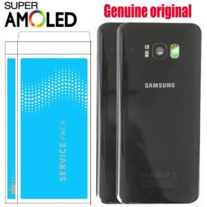 ORIGINAL Back Glass for SAMSUNG Galaxy S8 G950 G950F Display S8 Plus G955 G955F Battery Cover Innrech Market.com
