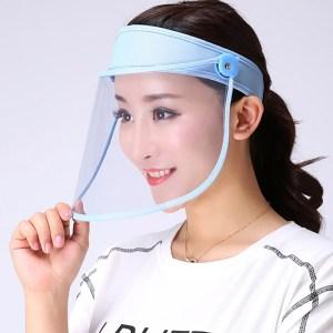 Transparent Adults Unisex Anti spitting Hat Dustproof Cover Cap Bucket Hat Virus Protection Caps Face Mask Innrech Market.com