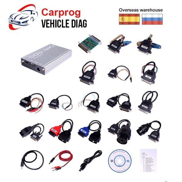 Carprog V10 0 5 V8 21 Car Prog ECU Chip Tunning Car Repair Tool Carprog Programmer Carprog V10.0.5 V8.21 Car Prog ECU Chip Tunning Car Repair Tool Carprog Programmer with All 21 Adapters Car Diagnostic Tool