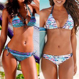 Floral print bikinis 2019 new swimwear women swimsuit beach bathing suit maillot de bain femme biquini Innrech Market.com