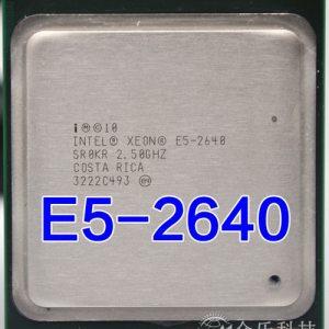 Intel Xeon E5 2640 E5 2640 15M Cache 2 50 GHz 7 20 GT s Processore Innrech Market.com