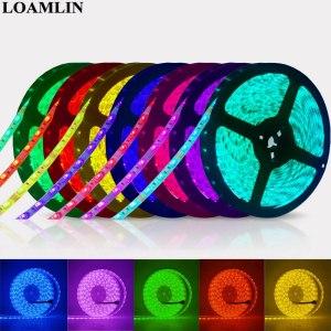 Led Strip 5050 RGB Lights DC12V Flexible Home Decoration Lighting Waterproof Led Tape RGB White Warm Innrech Market.com