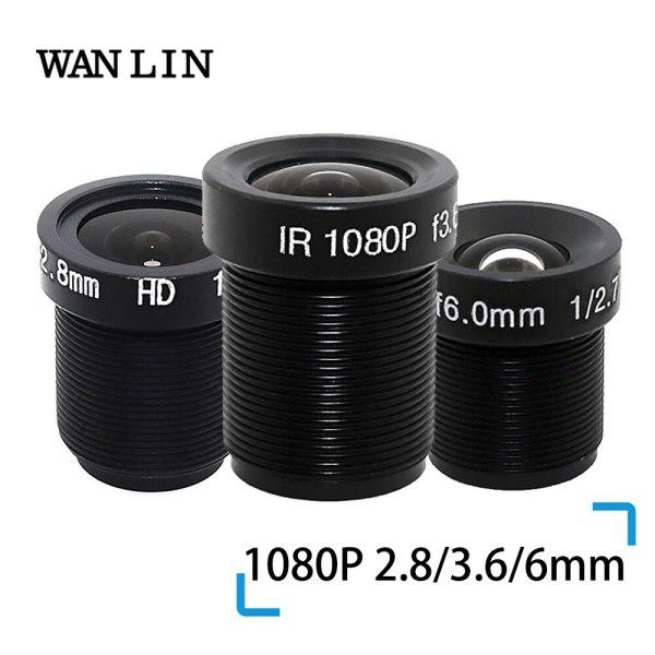 "WANLIN 1080P 2 8 3 6 6mm CCTV LENS Security Camera Lens M12 2MP Aperture F1 WANLIN 1080P 2.8/3.6/6mm CCTV LENS Security Camera Lens M12 2MP Aperture F1.8, 1/2.5"" Image Format Surveillance Camera Lens HD"