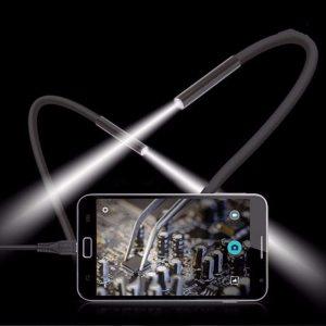 1M 5 5m 7mm Lens USB Endoscope Camera Waterproof Flexible Wire Snake Tube Inspection Borescope For Innrech Market.com