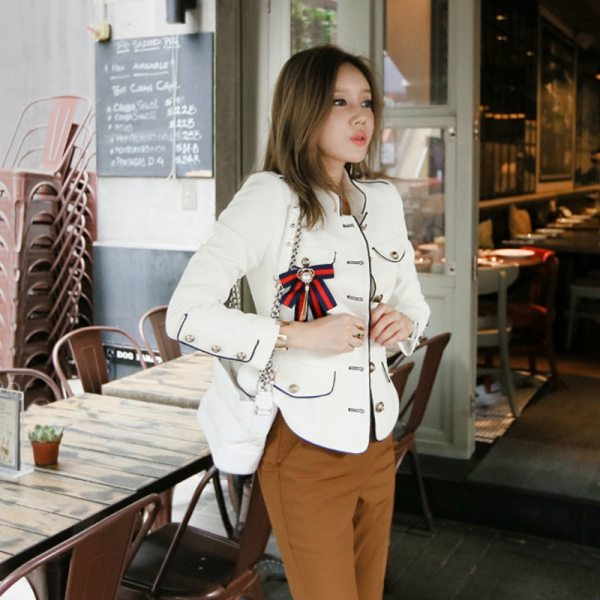2019 spring new arrival fresh high quality coat women fashion comfortable vintage elegant holiday solid cute 2 2019 spring new arrival fresh high quality coat women fashion comfortable vintage elegant holiday solid cute work style jacket