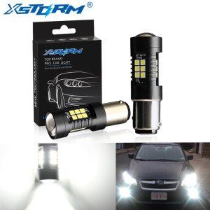 2Pcs 1156 BA15S P21W LED BAU15S PY21W BAY15D LED Bulb 1157 P21 5W R5W 21pcs 3030SMD Innrech Market.com