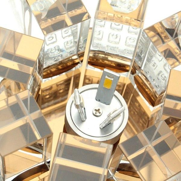 ANTINIYA Modern Crystal LED Ceiling Lamp Ceiling Light Fixture Lighting Ceiling Lights For Living Room Aisle 3 ANTINIYA Modern Crystal LED Ceiling Lamp Ceiling Light Fixture Lighting Ceiling Lights For Living Room Aisle Corridor Kitchen
