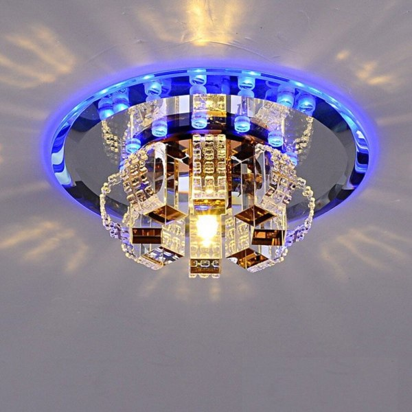 ANTINIYA Modern Crystal LED Ceiling Lamp Ceiling Light Fixture Lighting Ceiling Lights For Living Room Aisle ANTINIYA Modern Crystal LED Ceiling Lamp Ceiling Light Fixture Lighting Ceiling Lights For Living Room Aisle Corridor Kitchen
