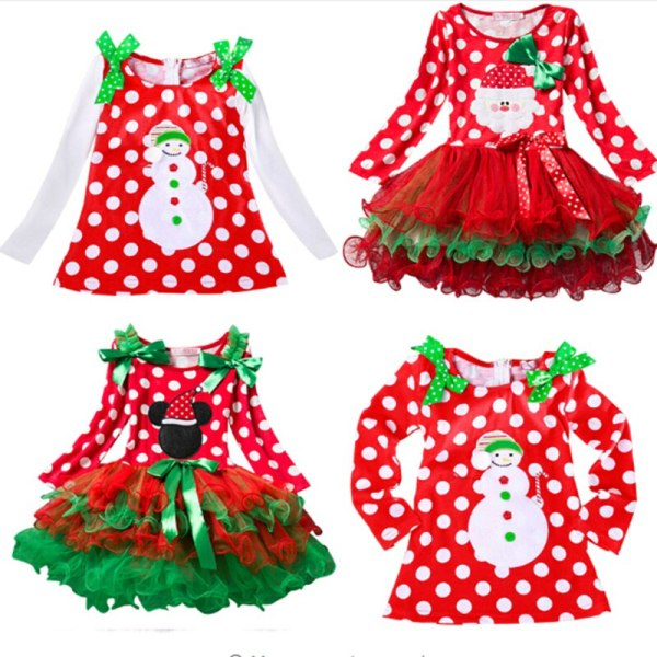Fancy New Year Baby Girl Carnival Santa Dress For Girls Summer Minnie Mouse Holiday Children Clothing 4 Fancy New Year Baby Girl Carnival Santa Dress For Girls Summer Minnie Mouse Holiday Children Clothing Party Tulle Kids Costume