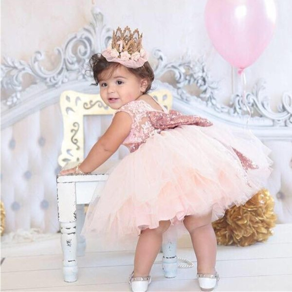 Gorgeous Baby Events Party Wear Tutu Tulle Infant Christening Gowns Children s Princess Dresses For Girls Gorgeous Baby Events Party Wear Tutu Tulle Infant Christening Gowns Children's Princess Dresses For Girls Toddler Evening Dress