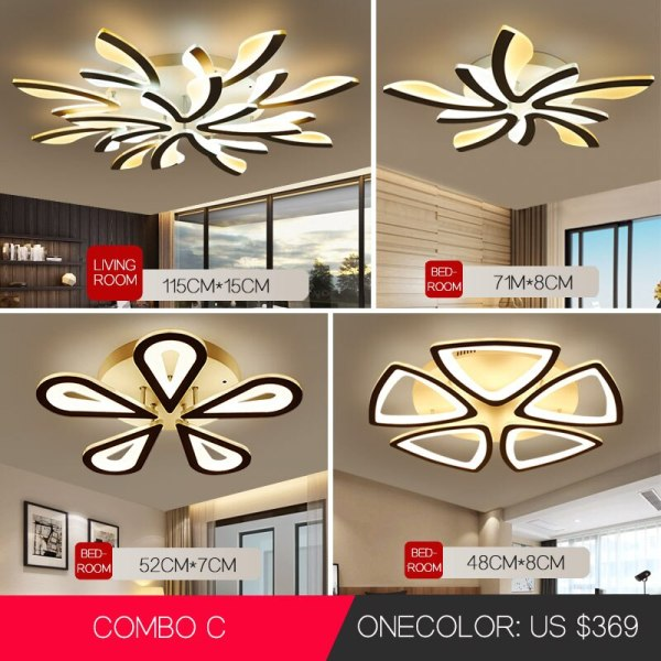 LED Ceiling Lights Dandelion Indoor Ceiling Lamp Modern Simple Post Modern Living Room Bedroom Dining Room 2 LED Ceiling Lights Dandelion Indoor Ceiling Lamp Modern Simple Post-Modern Living Room Bedroom Dining Room Study Room